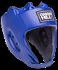 Шлем открытый Alfa HGA-4014, кожзам, синий - фото 46131