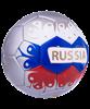 Мяч футбольный Russia №5 - фото 48763