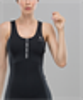 Женский спортивный комбинезон Balance FA-WO-0101, черный - фото 53738