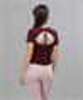 Женская спортивная футболка Balance FA-WT-0104, бордовый - фото 54202