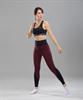 Женские спортивные леггинсы Balance FA-WH-0107, бордовый - фото 54322