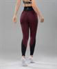 Женские спортивные леггинсы Balance FA-WH-0107, бордовый - фото 54323