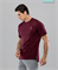 Мужская спортивная футболка Balance FA-MT-0105, бордовый - фото 54365