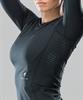Женский компрессионный лонгслив Intense PRO FA-WL-0101, черный - фото 54548
