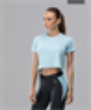 Женская спортивная футболка Intense PRO FA-WT-0102, голубой - фото 54654