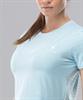 Женская спортивная футболка Intense PRO FA-WT-0102, голубой - фото 54660
