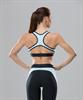 Женский спортивный бра-топ Intense PRO FA-WB-0102, черный/голубой - фото 54807