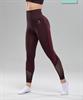 Женские спортивные бесшовные леггинсы Balance FA-WH-0108, бордовый - фото 55290