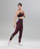 Женские спортивные бесшовные леггинсы Balance FA-WH-0108, бордовый - фото 55291