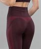 Женские спортивные бесшовные леггинсы Balance FA-WH-0108, бордовый - фото 55293