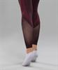 Женские спортивные бесшовные леггинсы Balance FA-WH-0108, бордовый - фото 55294