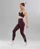 Женские спортивные бесшовные леггинсы Balance FA-WH-0108, бордовый - фото 55295