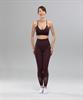 Женские спортивные бесшовные леггинсы Balance FA-WH-0108, бордовый - фото 55296